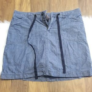 White Stag denim skort
